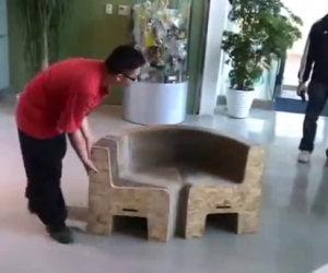 La sedia più strana che ci sia