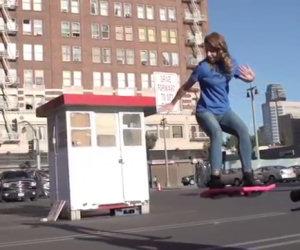 Lo skateboard volante è realtà