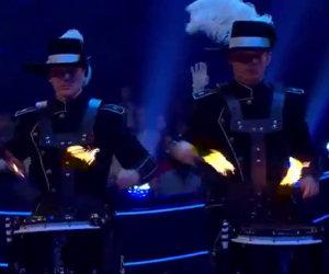 Questo non è un normale spettacolo di percussioni