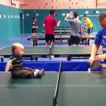 Prodigio del ping-pong