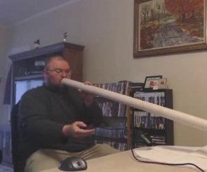 Uomo prova a inalare vapore ma le cose non vanno come previsto