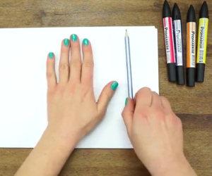 Ricalcare la propria mano in 3D