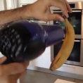 Come riportare in vita una banana annerita con un asciugacapelli