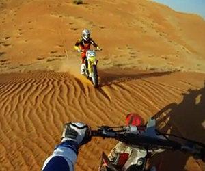 Scontro frontale nel deserto
