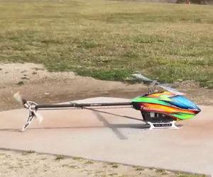 Sembra un normale elicottero ma...