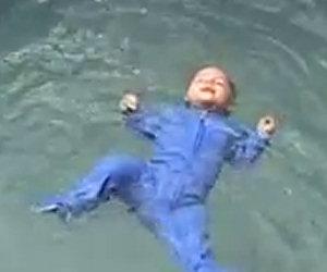 Tecnica di nuoto per bambini