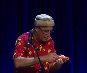 Trasforma una carota in un flauto