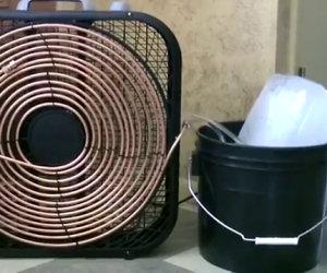 Come convertire un ventilatore in un condizionatore