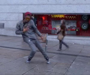 Un formidabile ballerino dubstep