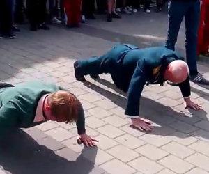 Veterano 77enne sfida i giovani