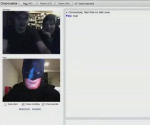Batman su Chatroulette