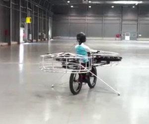 Ecco la prima bicicletta volante
