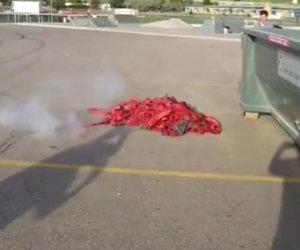 Far esplodere 128000 petardi