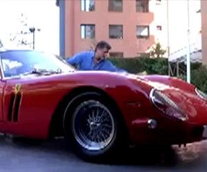 Farsi rubare la Ferrari mentre la si lava