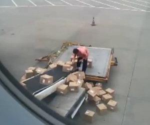 Il peggior operaio di un aereoporto
