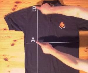 Piegare magliette in meno di 2 secondi