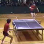 Ping pong acrobatico