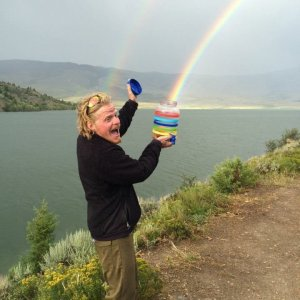 Ho liberato un arcobaleno!