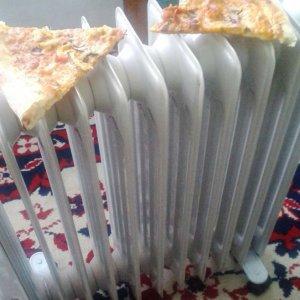 Riscaldare la pizza