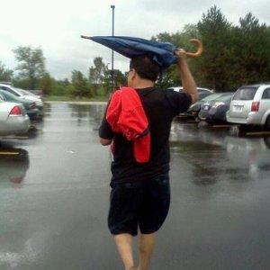 Utilità di un ombrello
