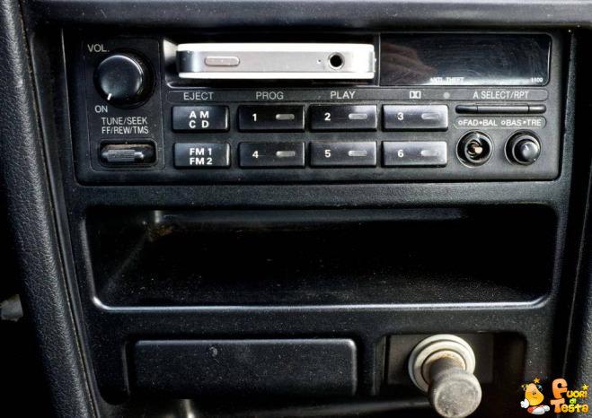 Utilità di una radio con cassetta
