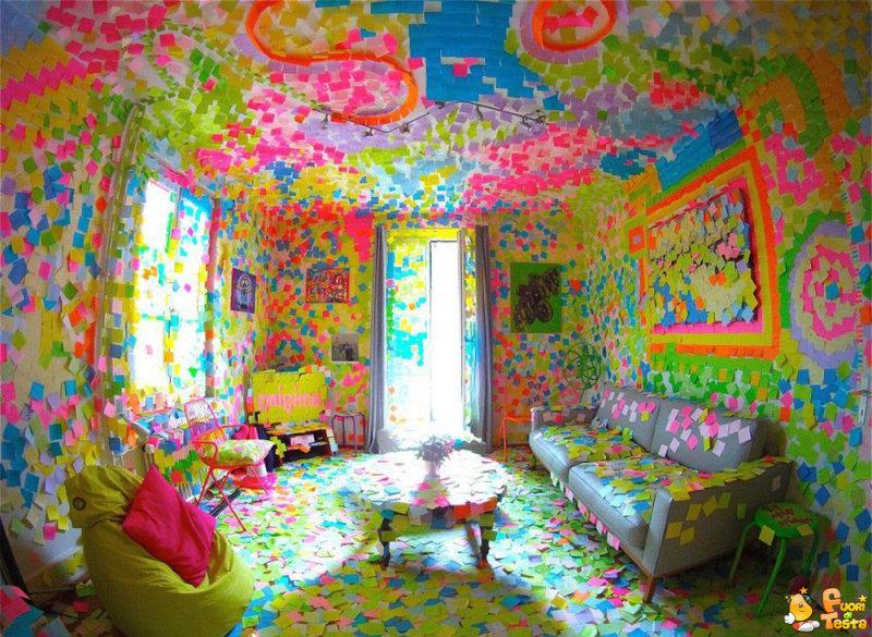 La stanza post-it