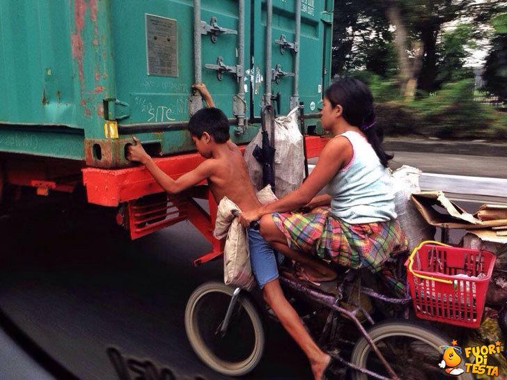 In mancanza di benzina...