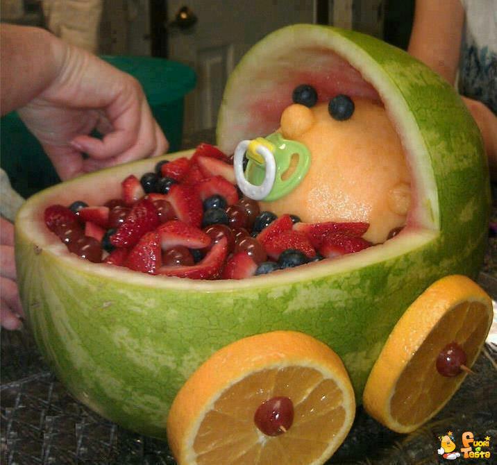 Culla di frutta