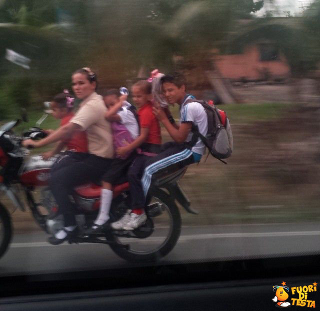 Sicurezza in moto