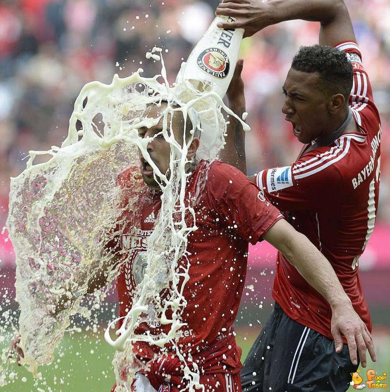 Ribery odia la birra!
