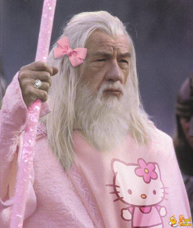 Gandalf il rosa