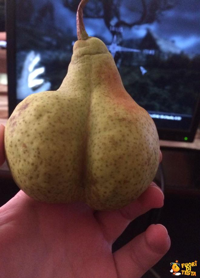 Una pera molto strana