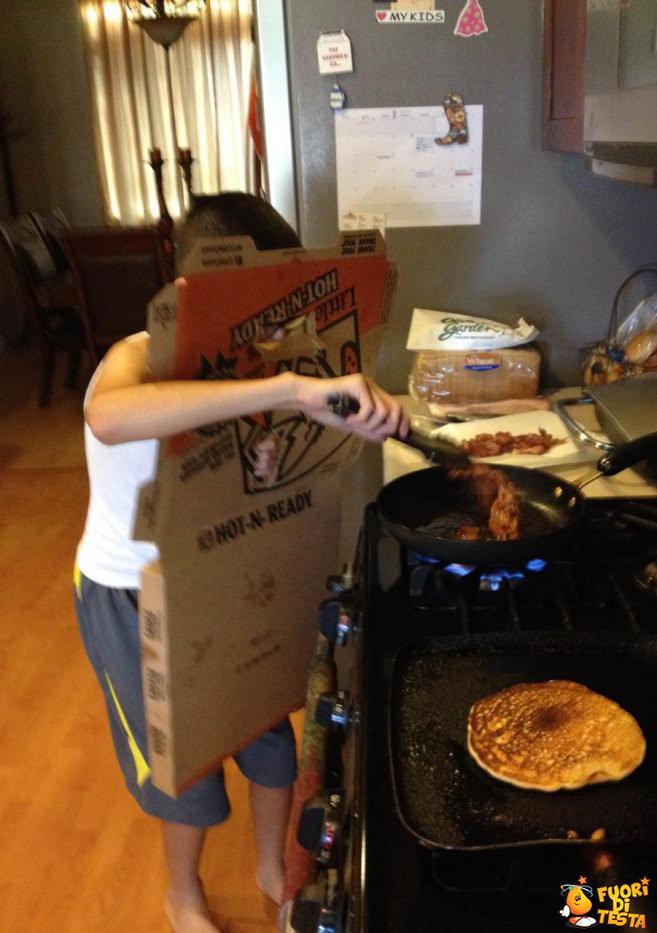 Come friggere senza scottarsi