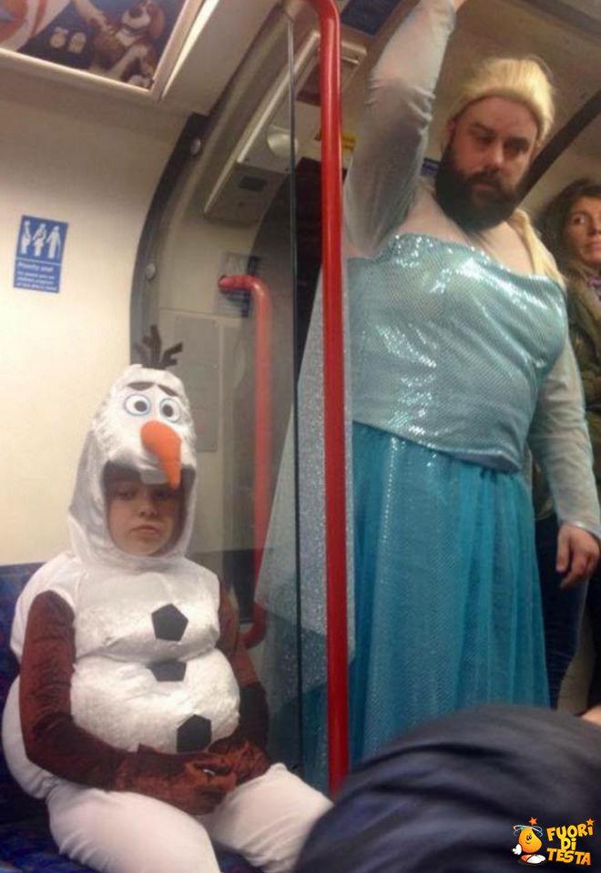Strani incontri in metro