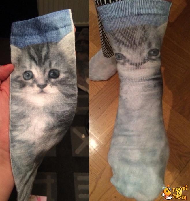 Amavo questi calzini prima di provarli