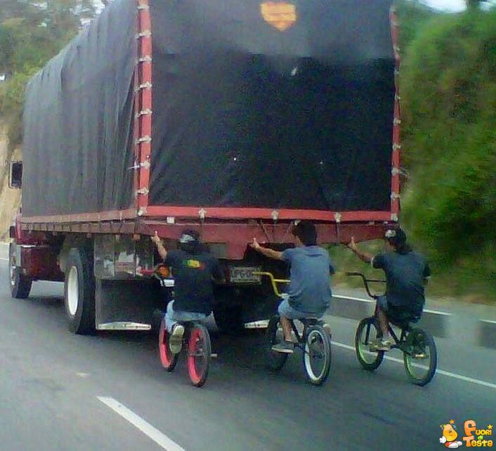 Andare in bici senza fatica