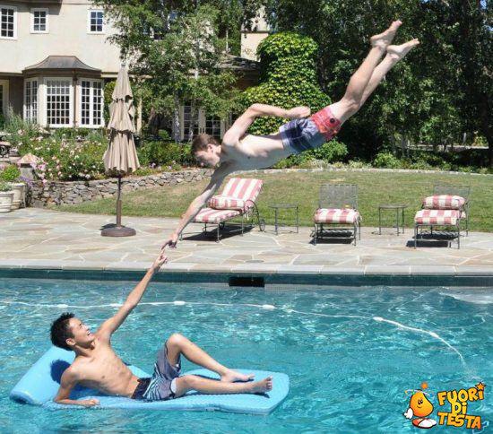 Arte in piscina