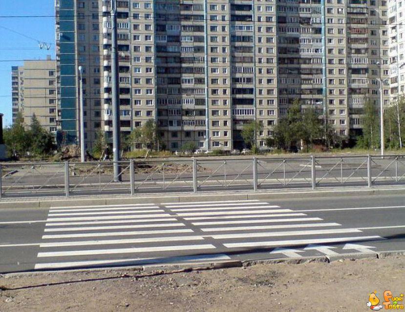 Attraversamento pedonale in Russia