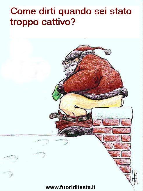 Molto Babbo Natale - Immagini divertenti PM04