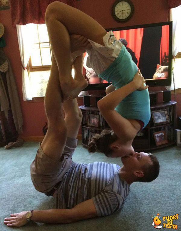 Bacio acrobatico
