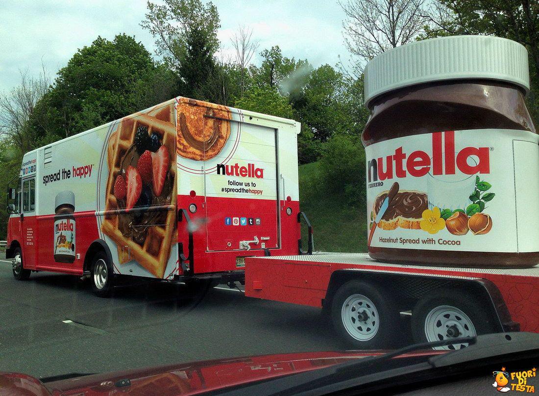Barattolo di Nutella gigante