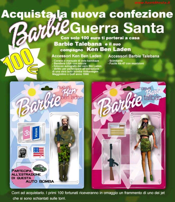 Barbie talebana immagini divertenti