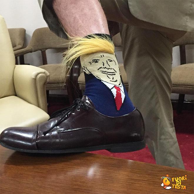 Calzini di Trump