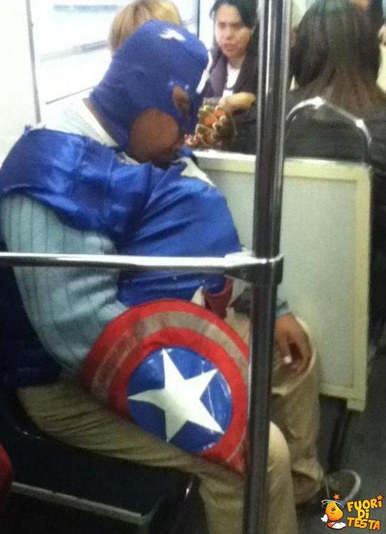 Capitan America è ingrassato