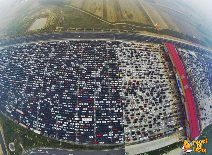 C'è un po' di traffico