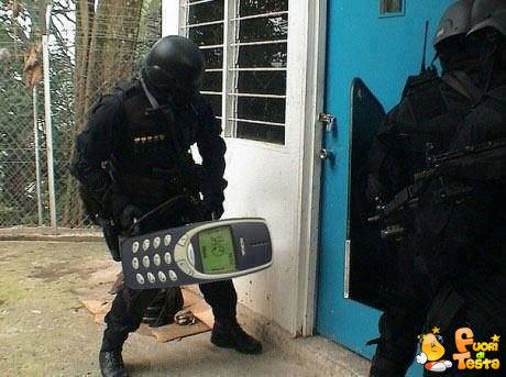 Cellulare di sfondamento