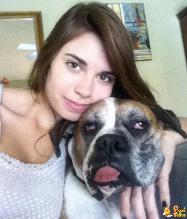 Che faccia da cani!