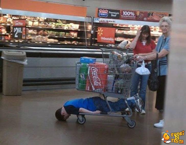 Che noia fare la spesa