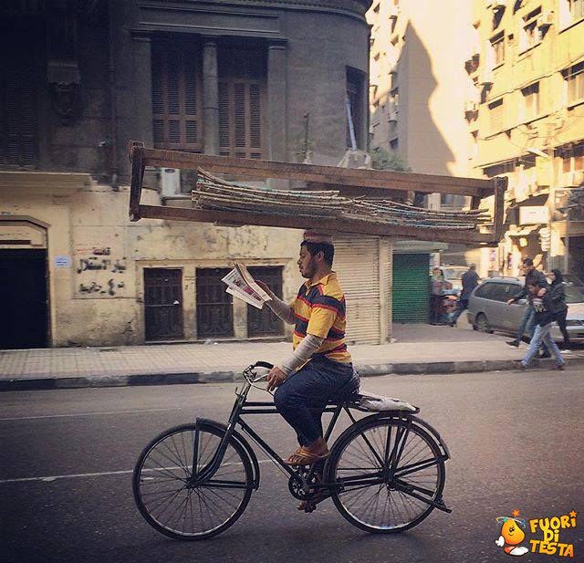 Ciclista o equilibrista?