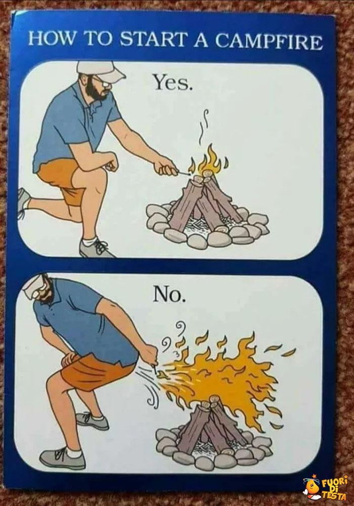 Come campeggiare